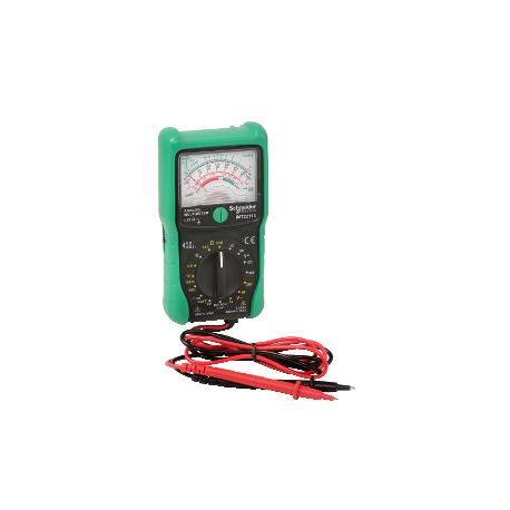 Multimètre analogique traditionnel utilisant un indicateur à aiguille Cat III 300V