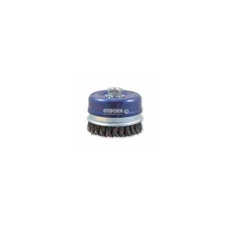 Cup brush Osborn Ø100xM14 wire size 0.5