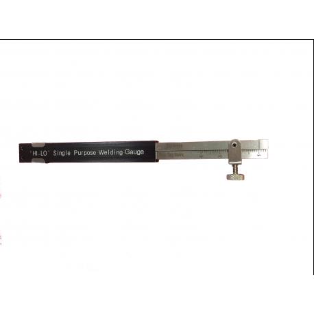 HI-LO 2 simple purpose welding gage
