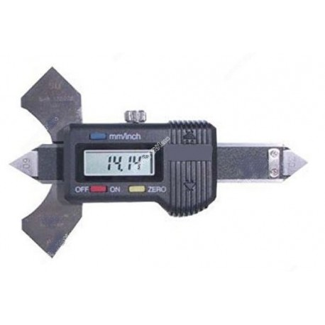 Digital vernier gauge with 0.01mm resolution