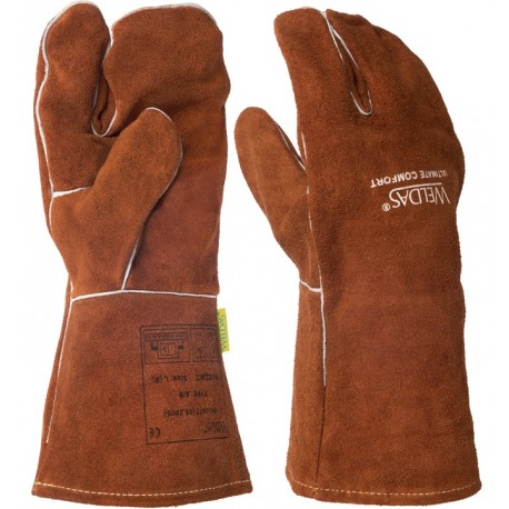 Welding glove Mig 3 fingers high quality
