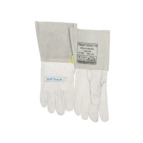 Softouch grain calfskin-TIG glove 10-1005