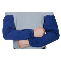 Blue flame retardant cuff Weldas - the pair