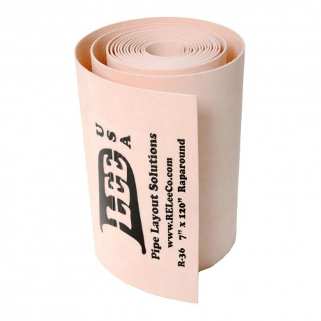 Big wrap pipe unprinted - available in several sizes