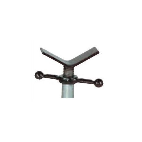 V head steel for pipe jack