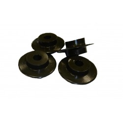 Set of 4 wheels for pipe cutter Cast Iron and Ductile Iron