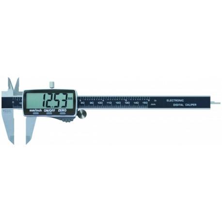 Precision stainless steel digital caliper 150 mm 1/100 - DIN 862