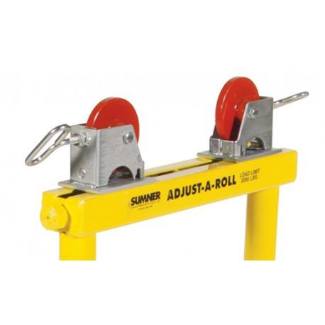 Aluminum trestle roller kit - pair