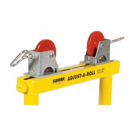 Aluminum trestle roller kit - pair