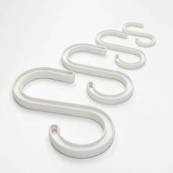 CableSafe® Hook 12'' / 190 kg white - 6 pieces