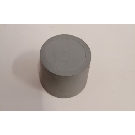 Rubber plug for inerting 50 to 125mm (with central bore hole)